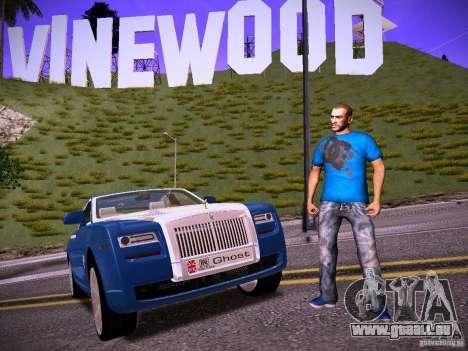 Niko Bellic Reload Beta 0.1 pour GTA San Andreas quatrième écran