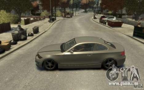 BMW 135i pour GTA 4 est une gauche