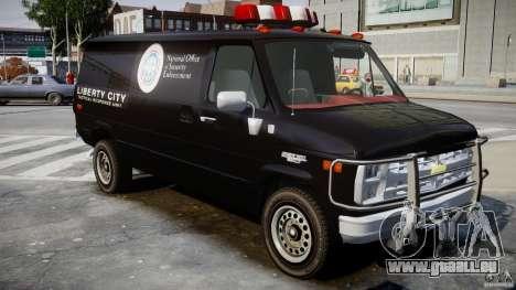 Chevrolet G20 Van V1.1 pour GTA 4 est un droit