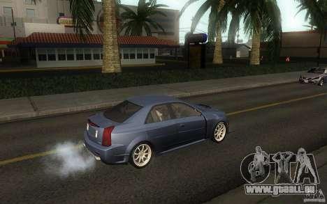 Cadillac CTS-V für GTA San Andreas Rückansicht