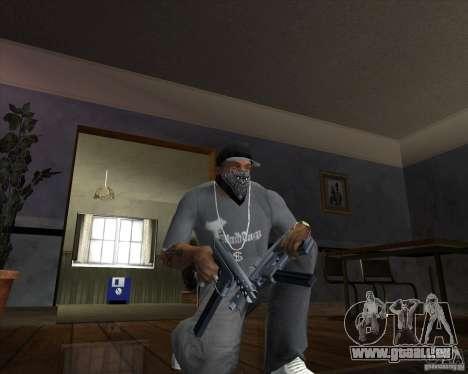 Tec 9 (HQ) pour GTA San Andreas deuxième écran