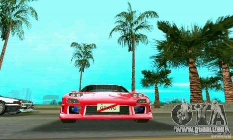 Mazda RX7 Charge-Speed pour une vue GTA Vice City de la droite