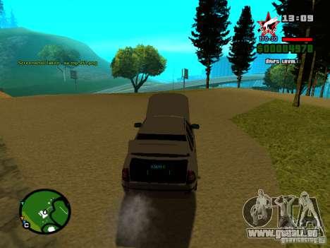 Lada Priora für GTA San Andreas Seitenansicht