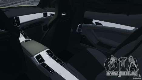 Porsche Panamera Turbo 2010 pour GTA 4 est une vue de l'intérieur