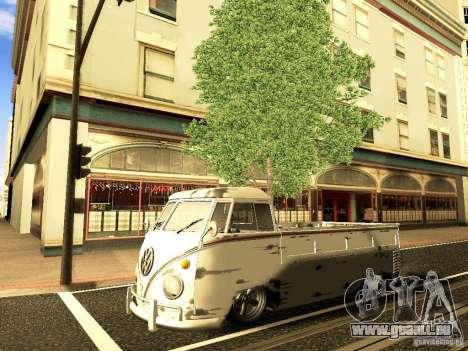 Volkswagen Type 2 Single Cab Rat pour GTA San Andreas vue de côté