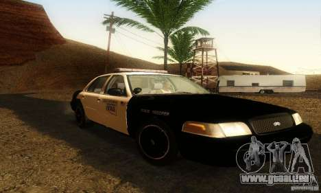 Ford Crown Victoria Oklahoma Police pour GTA San Andreas