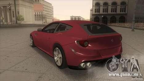 Ferrari FF 2011 V1.0 pour GTA San Andreas vue de droite