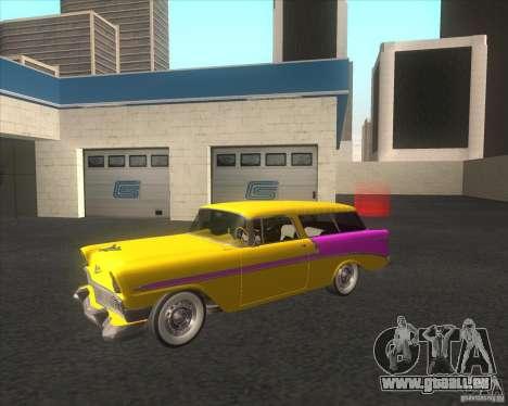 Chevrolet Bel Air Nomad 1956 stock für GTA San Andreas
