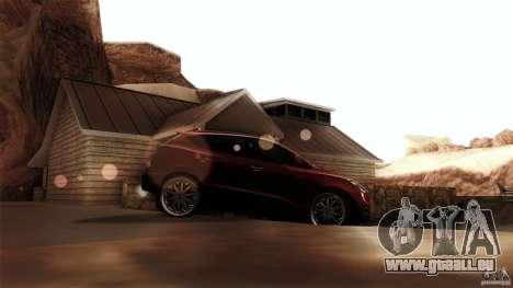 Hyundai iX35 Edit RC3D pour GTA San Andreas laissé vue