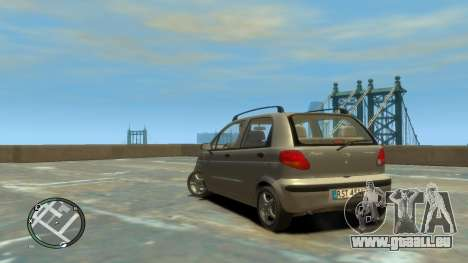 Daewoo Matiz Style 2000 für GTA 4 linke Ansicht