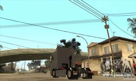 DAF XF pour GTA San Andreas vue de droite