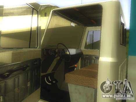 GAZ 3307 für GTA San Andreas zurück linke Ansicht