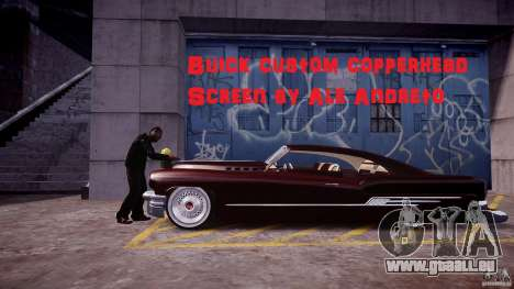 Buick Custom Copperhead 1950 pour GTA 4