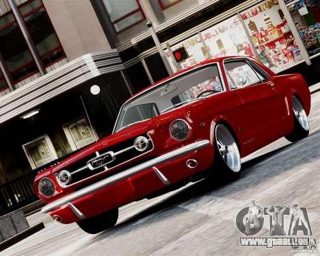Ford Mustang GT MkI 1965 für GTA 4 linke Ansicht