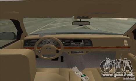 Ford Crown Victoria 2003 pour GTA San Andreas laissé vue