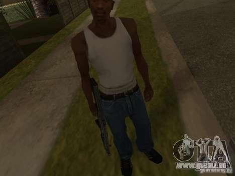 MP5A2 für GTA San Andreas dritten Screenshot