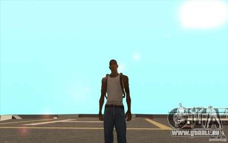Parachute pour GTA San Andreas troisième écran