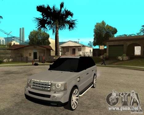 RANGE ROVER SPORT pour GTA San Andreas