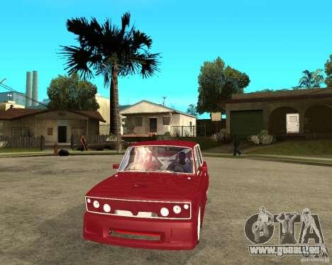 Seigneur de VAZ 2106 pour GTA San Andreas vue arrière