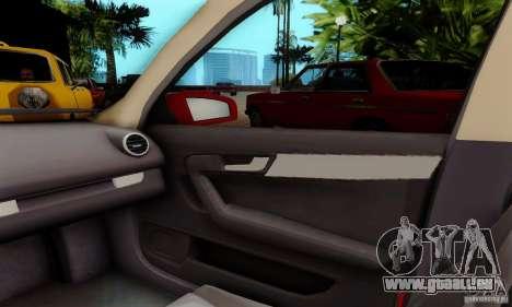 Audi A3 Sportback 3.2 Quattro für GTA San Andreas Rückansicht