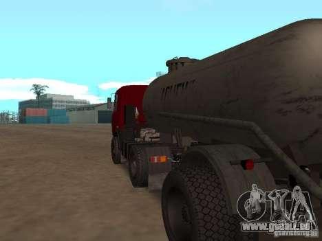 TTC 26 pour GTA San Andreas vue de droite