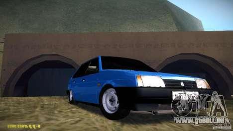 VAZ 2109 für GTA San Andreas Rückansicht
