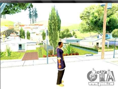 Snoop DoG le F.B.I. pour GTA San Andreas quatrième écran