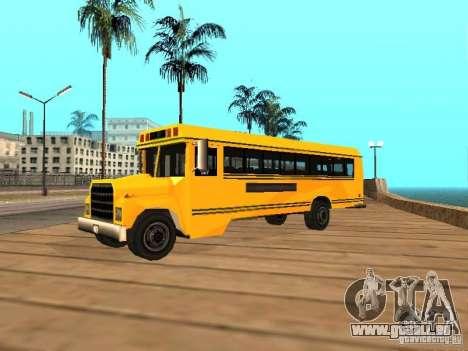 School bus für GTA San Andreas linke Ansicht