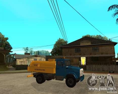 ZIL-433362 Extra Pack 2 pour GTA San Andreas vue de côté