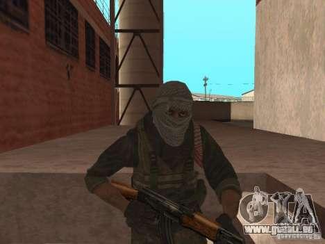 Dušman 2 de COD4MW pour GTA San Andreas troisième écran
