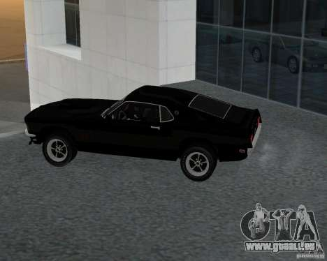 Ford Mustang Boss 1969 für GTA San Andreas linke Ansicht