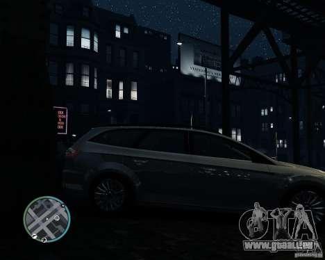 Ford Mondeo Mk4 pour GTA 4 est un droit