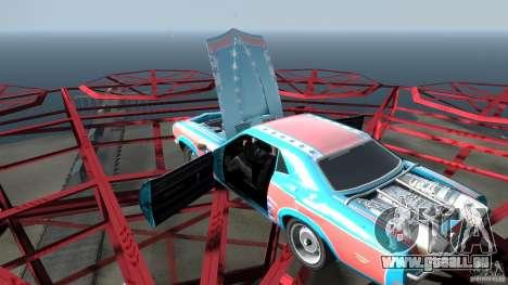 Afterburner Flatout UC pour GTA 4 est une vue de dessous
