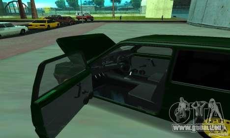 VAZ 1111 Oka für GTA San Andreas Rückansicht