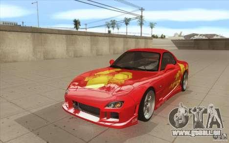 Mazda RX-7 - FnF2 für GTA San Andreas
