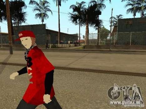 JabbaWockeeZ Skin pour GTA San Andreas quatrième écran