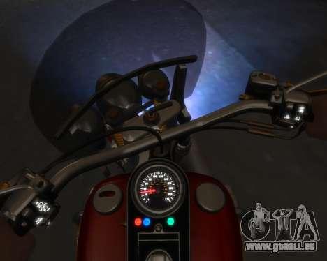 Harley-Davidson Fat Boy Lo (Vintage final) für GTA 4 linke Ansicht