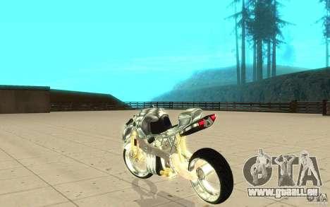 New NRG Chrome version pour GTA San Andreas sur la vue arrière gauche