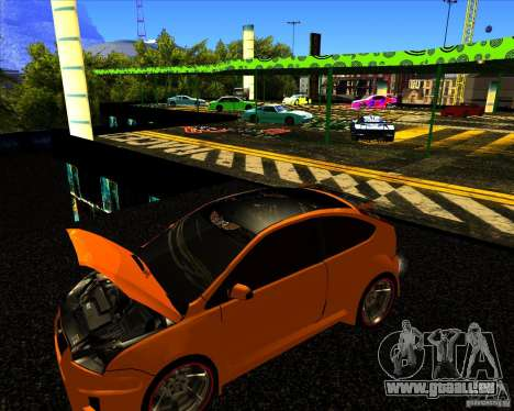Ford Focus ST Racing Edition für GTA San Andreas rechten Ansicht
