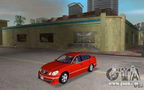 Lexus GS430 pour GTA Vice City