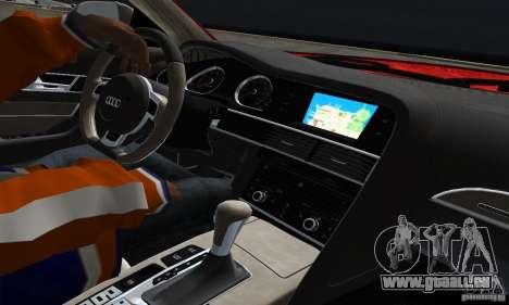 Audi A6 Avant Stanced für GTA San Andreas Innenansicht