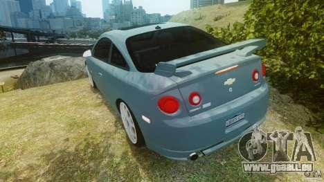 Chevrolet Cobalt SS für GTA 4 hinten links Ansicht