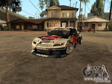 Mazda RX-8 RedBull pour GTA San Andreas