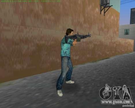 Le nouveau M-60 pour le quatrième écran GTA Vice City