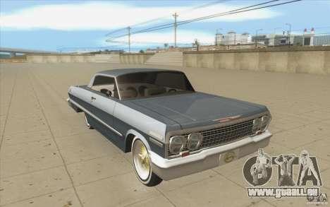 Voodoo pour GTA San Andreas vue arrière