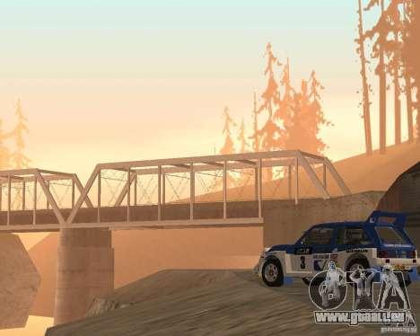 MG Metro 6M4 Group B pour GTA San Andreas vue arrière