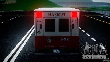 LCFD Hazmat Truck v1.3 für GTA 4-Motor