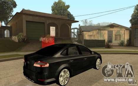 Ford Mondeo 2009 pour GTA San Andreas vue de droite
