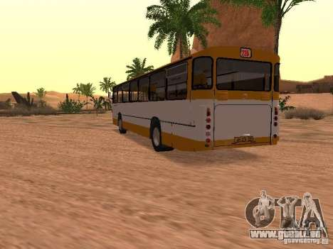 Mercedes-Benz O305 pour GTA San Andreas salon