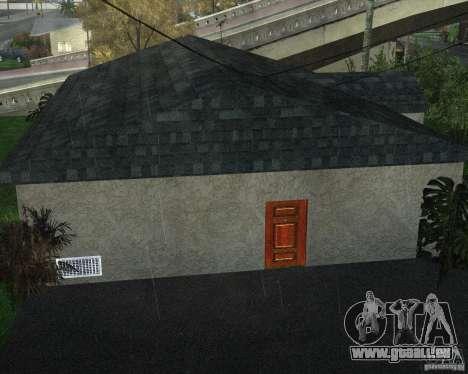 New Ryder House pour GTA San Andreas cinquième écran